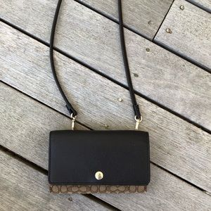 COACH wallet/bag with crossbody strap